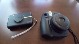 getlinkyoutube.com-Polaroid Snap vs Fujifilm Instax Mini 8