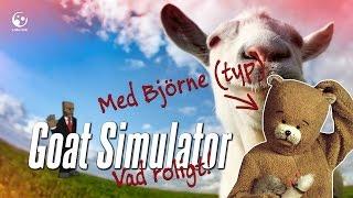 getlinkyoutube.com-Goat Simulator med Björne - Vad roligt!