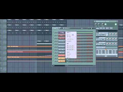 Fl Studio 10 How to make Progressive House Music Tutorial 2011