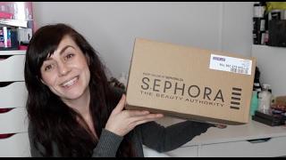getlinkyoutube.com-Sephora Skincare Haul (oops to my no buy)
