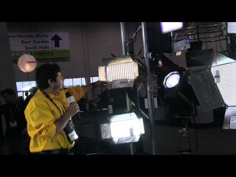 NAB 2012 - Gama de luces Ikan