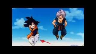 Errores Ineditos en Dragon Ball Z Parte 1