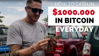 How To Cash In $1000 In BitCoin For Less Than Average ATM Fee