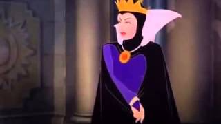 Snow white, the Queen and the  Magic Mirror  1
