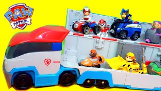 PAW PATROL Nickelodeon Paw Patroller Toy Review Chase Skye Rubble