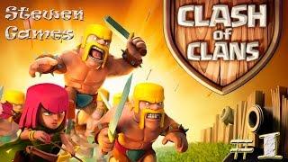 getlinkyoutube.com-Прохождение игры Clash of Clans (Android) #1 Провинция!!!