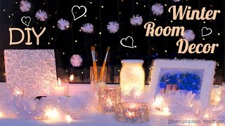getlinkyoutube.com-5 DIY Winter Room Decor Ideas – How To Decorate Your Room For Winter