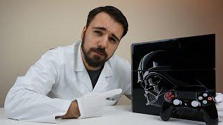 getlinkyoutube.com-Die dunkle Macht? - Star Wars Battlefront - Limited Edition PS4 Unboxing - Dr. UnboxKing - Deutsch