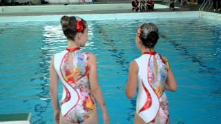 getlinkyoutube.com-ines natation synchronisée concours régional poussines