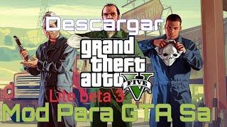 getlinkyoutube.com-Descargar GTA San Andreas Modificado Como GTA 5 Al 100% V3 (2016)