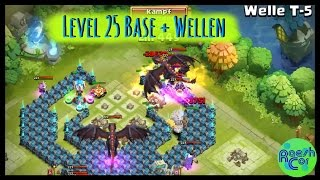 getlinkyoutube.com-LEVEL 25 BASE ➤ Castle Clash Schloss Konflikt ಠ Rathaus/Townhall 25 + Welle T [Deutsch] RaeshCor