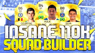 INSANE 110K SQUAD BUILDER!!! Ft. ST Hulk & Thiago Silva | FIFA 16 Ultimate Team