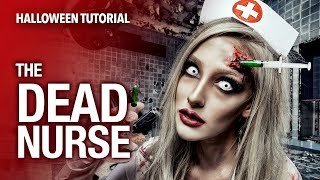getlinkyoutube.com-Dead nurse special fx halloween tutorial