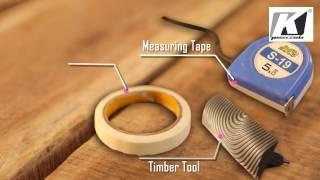 Wood graining tools