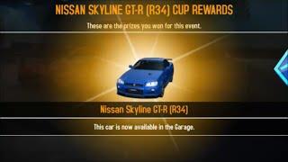 getlinkyoutube.com-Asphalt 8 Nissan Skyline GTR [R34] MAX PRO Tuning (4,4,4,4)