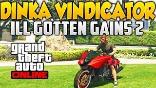 getlinkyoutube.com-GTA V Online DINCA VINDICATOR MOTO CON NITRO!!! DLC ILL GOTTEN GAINS PARTE 2 Tuneado y Test y Como C