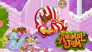 Cookieswirlc Animal Jam Online Game Play with Cookie Fans !!!! Random Fun  Video