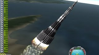 getlinkyoutube.com-KSP Mars Ultra Direct: Ludicrous single launch to Mars in Real Solar System