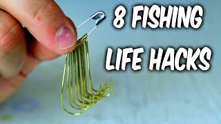 getlinkyoutube.com-8 Fishing Life Hacks