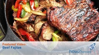 getlinkyoutube.com-Authentic Tex Mex Style Steak Fajitas