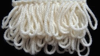 getlinkyoutube.com-Crochet : Punto Bucle