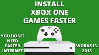 getlinkyoutube.com-How to install Xbox One games faster (QUICK FIX)