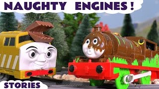 Thomas and Friends Naughty Toy Trains Prank Episodes with Thomas Minis and Paw Patrol ToyTrains4u