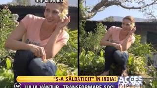getlinkyoutube.com-Iulia Vântur, clipe romantice în India
