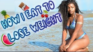HOW I EAT TO LOSE WEIGHT | Scola Dondo