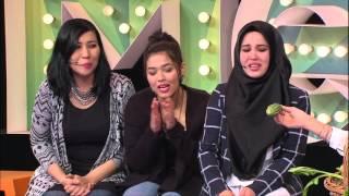 MeleTOP - Chacha, Emma & Yaya Maembong Sahut Cabaran Hias Kek! Ep159 [17.11.2015]