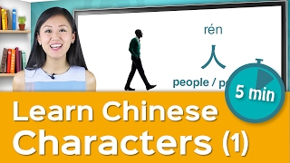 Learn Your First Chinese Character in 5 Minutes