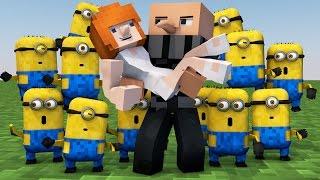 getlinkyoutube.com-Minecraft | MORPH HIDE AND SEEK - Minions Despicable Me Mod!