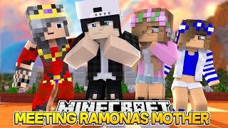 getlinkyoutube.com-MEETING RAMONAS MOM/RAVENS GRANDMA! Minecraft Ramona Life w/LittleKelly&Carly (Custom Roleplay)