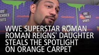WWE Superstar Roman Reigns' Daughter Steals The Spotlight On Orange Carpet