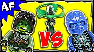 getlinkyoutube.com-Lego Ninjago MORRO vs JAY Airjitzu Battle & Review 70743