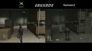 getlinkyoutube.com-Max Payne 2: The Fall of Max Payne Comparison Xbox vs PS2