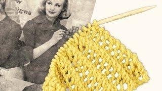 getlinkyoutube.com-BEGINNERS LACE SCARF- A Beautifully Simple Lace Stitch.