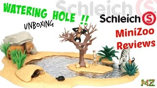 Schleich Watering Hole Unboxing and Review