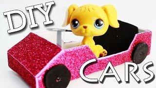 getlinkyoutube.com-Miniature Car Tutorial - DIY for LPS and Doll