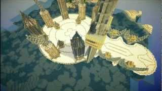 getlinkyoutube.com-Minecraft timelapse - Diamond gates of heaven