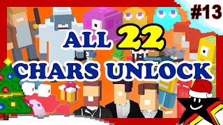 getlinkyoutube.com-CROSSY ROAD All 22 Secret Characters Unlock | NEW Christmas Update Yeti & Purple Bloop ☆13