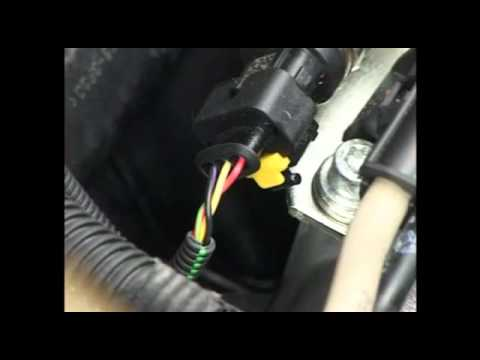 How to test the fuel rail pressure sensor on a Fiat Doblo 1300 Multijet