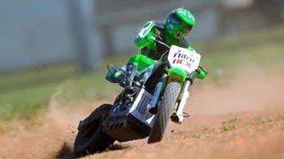 getlinkyoutube.com-New 1/4 Scale MX 400 Off Road RC Motorcycle