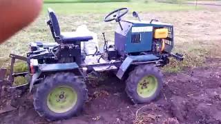 getlinkyoutube.com-Homemade tractor digging potatoes