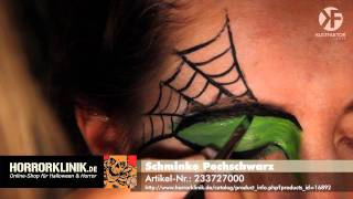 Schminken zu Halloween: Hexen Make-up leicht gemacht -- by Horrorklinik.de