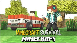 Minecraft Survival Ep.134 - Carro Bomba !!