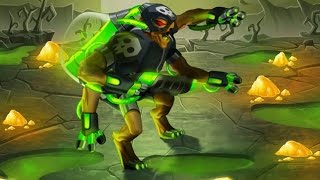 getlinkyoutube.com-Monster Legends - Dr. Hazard (Nivel 1 al 100) + Combate