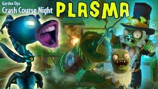 getlinkyoutube.com-Let's Play PVZ Garden Warfare: PLASMA PEA Shooter! BARON VON BATS ZOMBOSS Crash Course Garden Ops