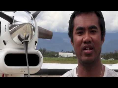 Lentera Papua Aviation in Wamena | Sekolah Sinar Baliem | 2014 | English