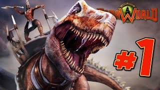 REAL TIME DINOSAURS! - Paraworld Skirmish Match Gameplay || Ep1